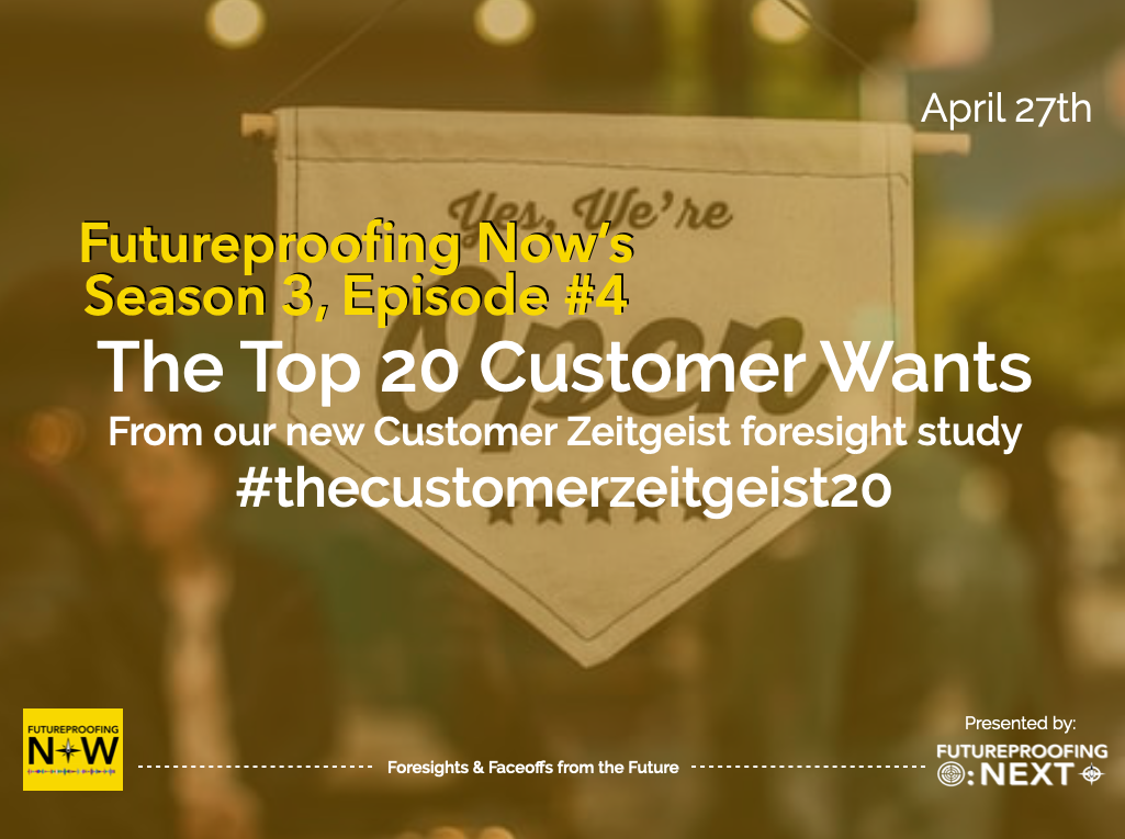 Season #3 Episode #4 Customer Zeitgeist